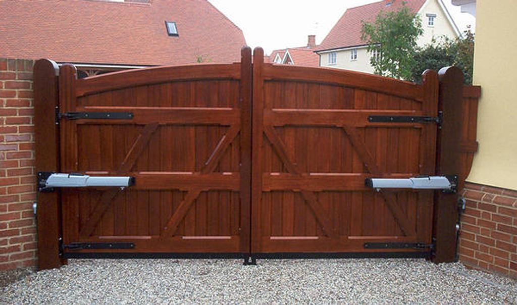 автоматические ворота из деоева